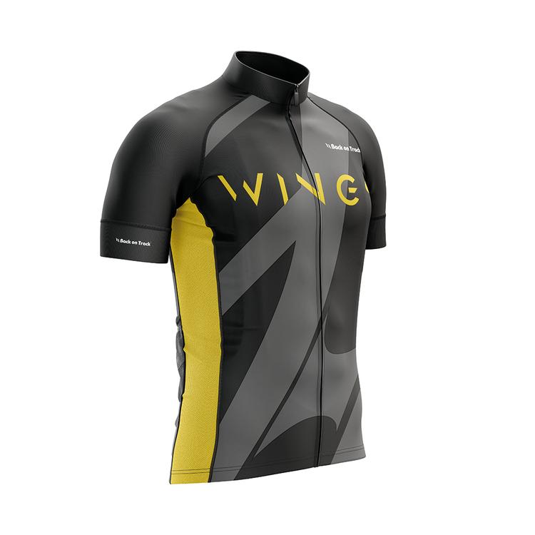 WINGS | Shirt | Black / Yellow