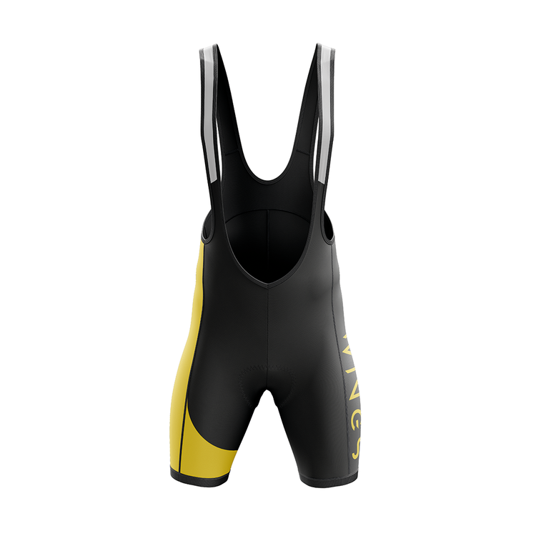 WINGS | Bib Shorts | Black / Yellow