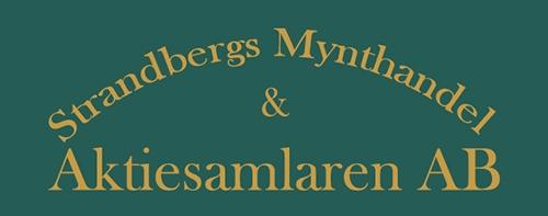 Strandbergs Mynthandel & Aktiesamlaren AB