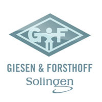 Giesen & Forsthoff Timor Solingen Dubbelrakblad