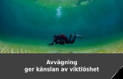 Avvägning enkel dykning