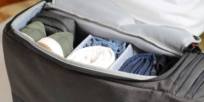 2 ways to pack effectively