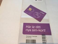 SIM-kort Telematic