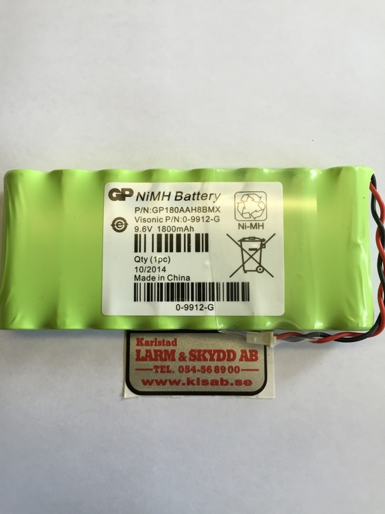 Batteri till central Powermax