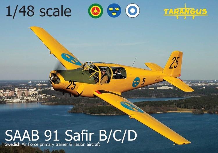 SAAB 91 B/C/D Safir trainer