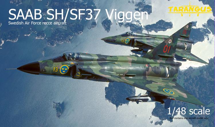 SAAB SH/SF37 Viggen recce