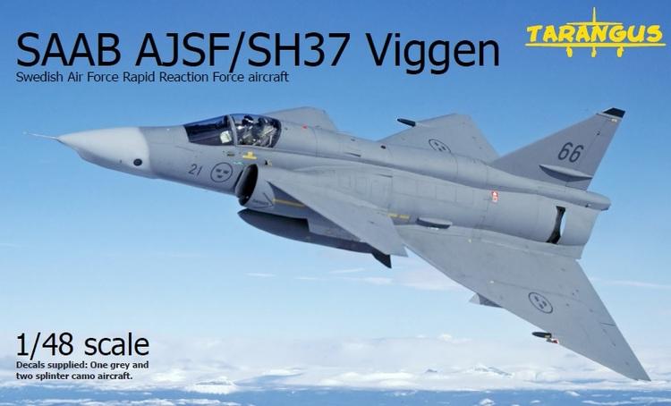 SAAB SH/SF37 Viggen recce SWERAP