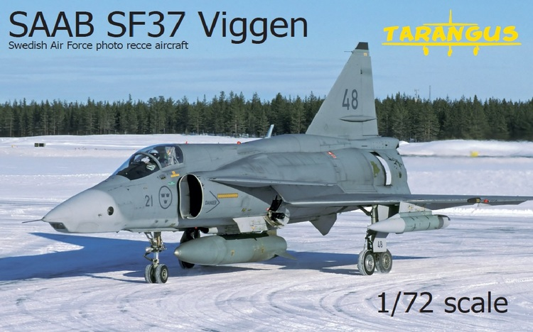 SAAB SF37 Viggen photo recce