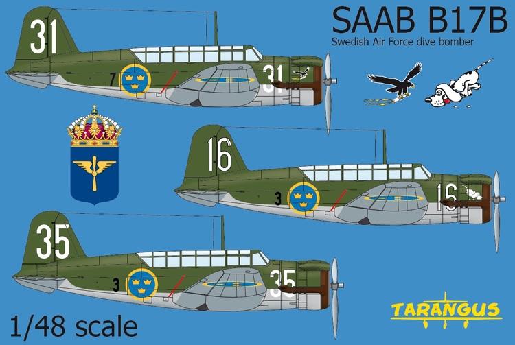 SAAB B17B - The first SAAB aircraft