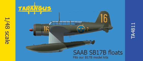 SAAB 17 Floats for out B17 model