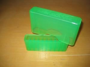 Ammunitionsbox grön 20 patroner