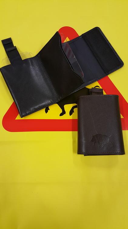 Kreditkortsplånbok lLäder