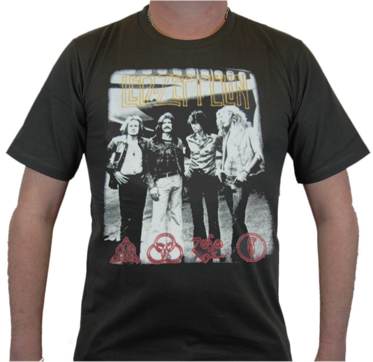 Led zeppelin Signs T-shirt