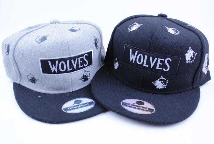 Keps Wolves Svart/grå
