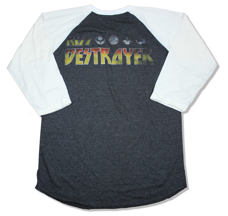 Kiss destroyer baseballshirt