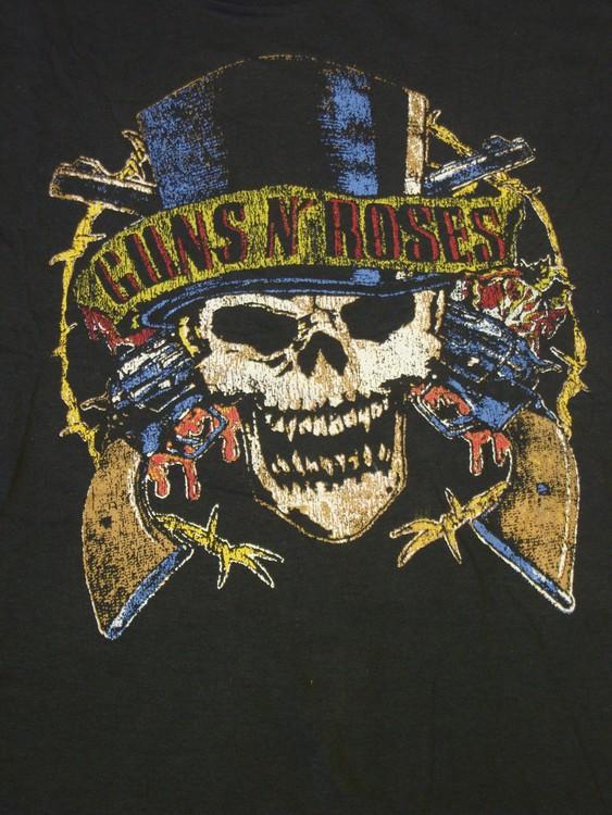 Guns n roses baseballshirt