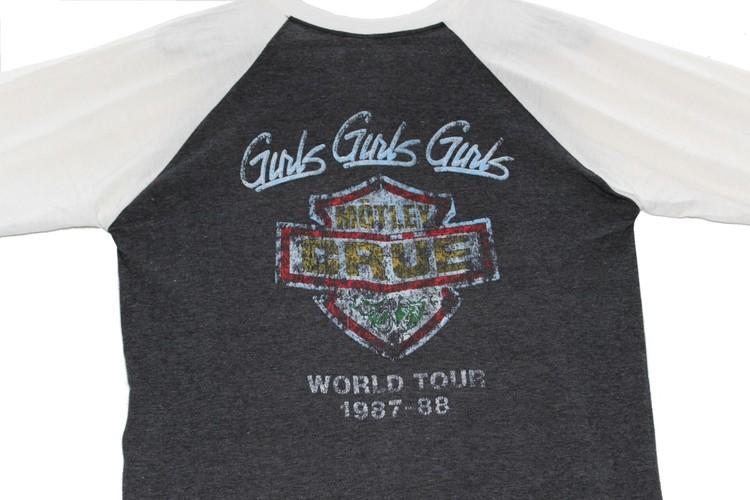 Mötley crue baseballshirt