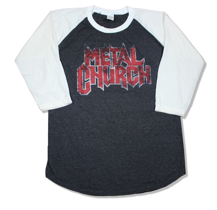 Metal church baseballshirt