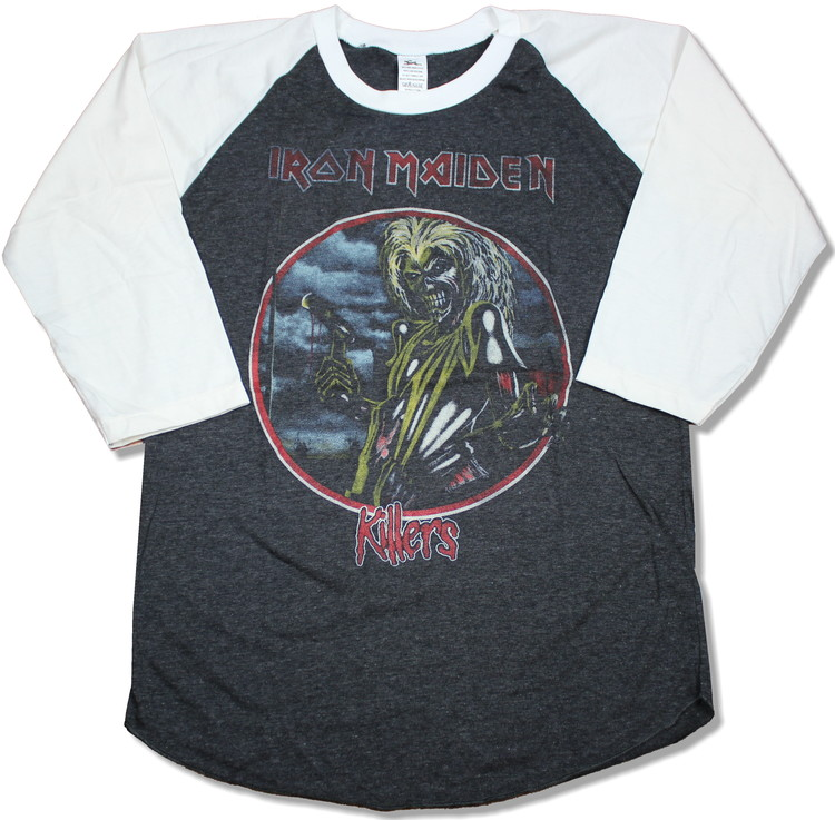 Iron maiden killers baseballshirt