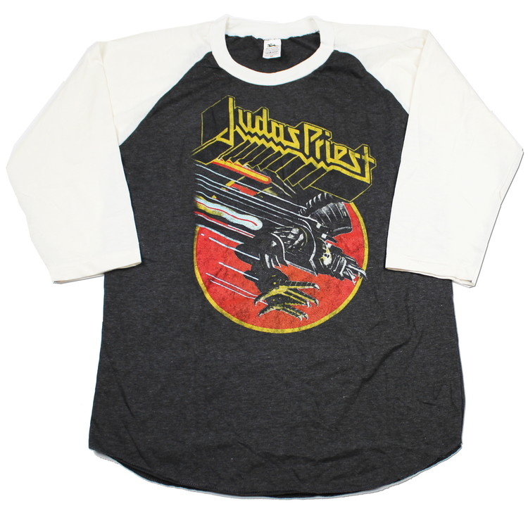 Judas priest Screaming for vengance baseballshirt