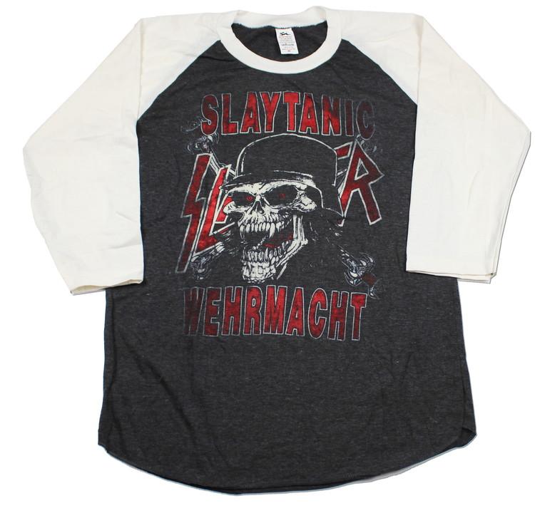 Slayer Slaytanic Wermacht baseballshirt