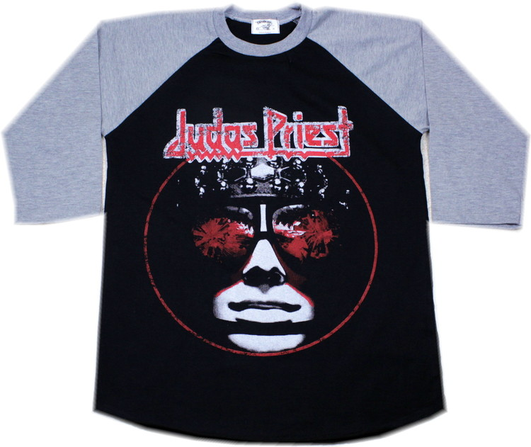 Judas priest killing machine baseballshirt