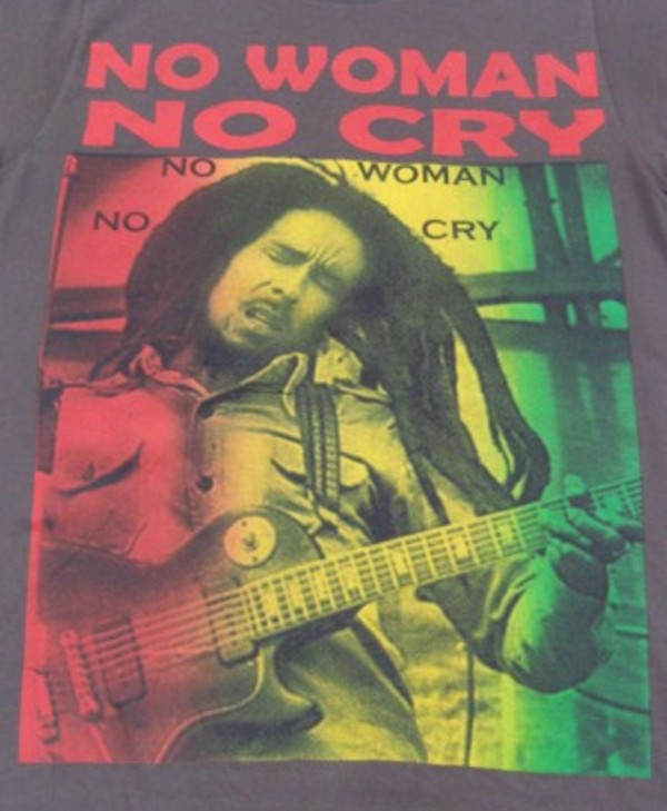 Bob marley No women No cry T-shirt