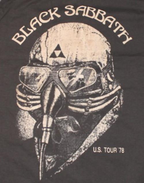 Black sabbath US tour-78 Tanktop