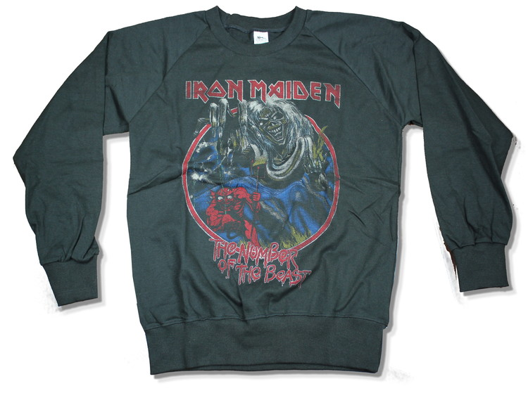 Iron maiden number of the beast Sweatshirt