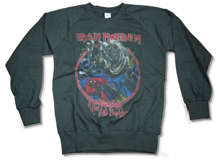 Iron maiden number of the beast Sweatshirt