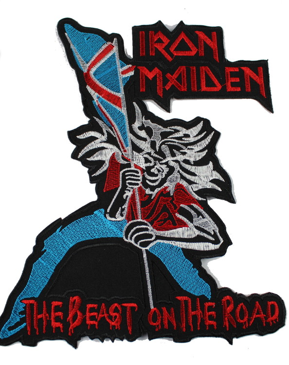 Iron maiden The beast on the road XL