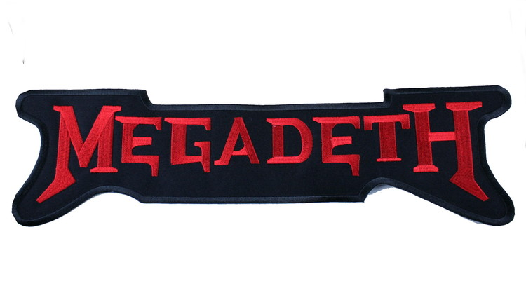 Megadeath röd XL