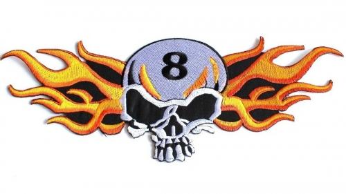 Dödskalle 8 XL