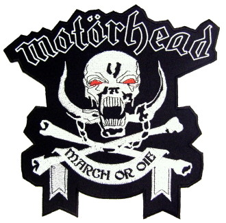Motörhead March or die XL