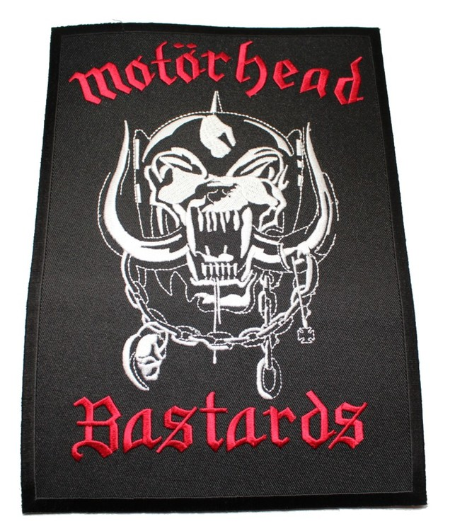 Motörhead Bastards Röd XL