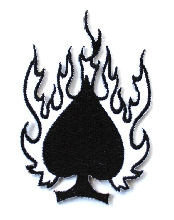 Ace of spades/fire