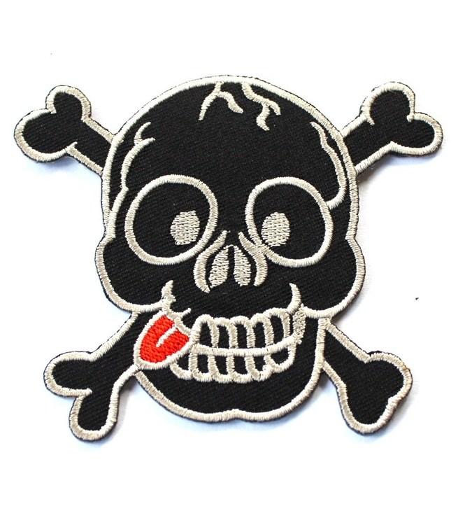 Skull/tounge