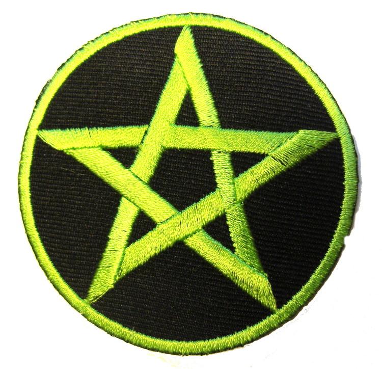 Pentagram Grön