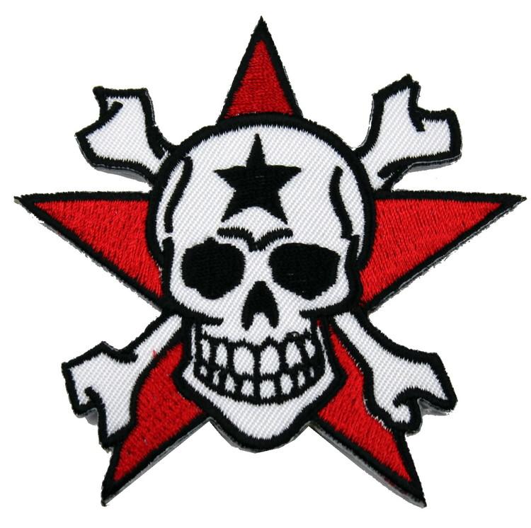 Skull/star