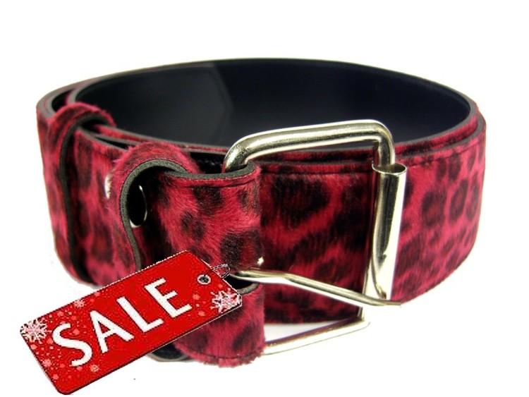 Bälte leopard Röd