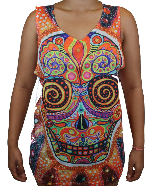 Sugarskull Big Linne