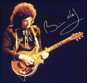Brian May Custom red special