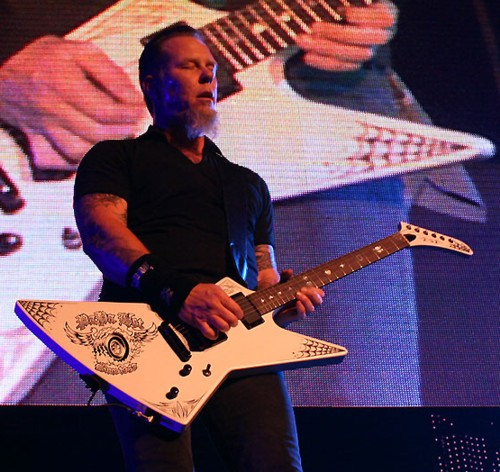 James Hetfield ESP Papa het
