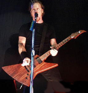 James Hetfield Wood grain