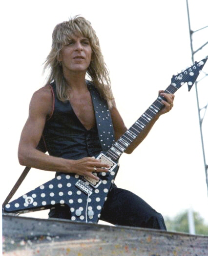 Randy Rhoads Flying