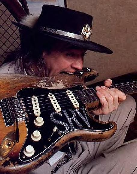 Stevie ray Vaughn SRV
