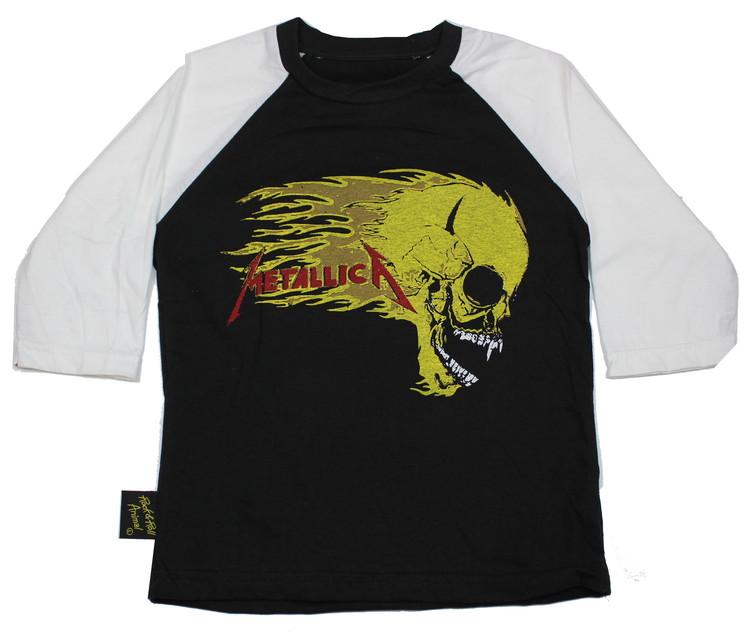 Metallica Skull Baseball