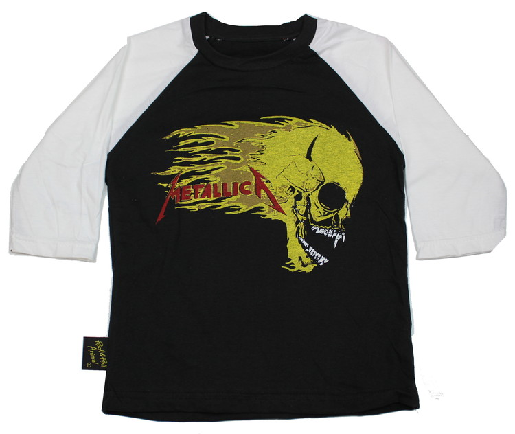 Metallica Skull barn Baseball