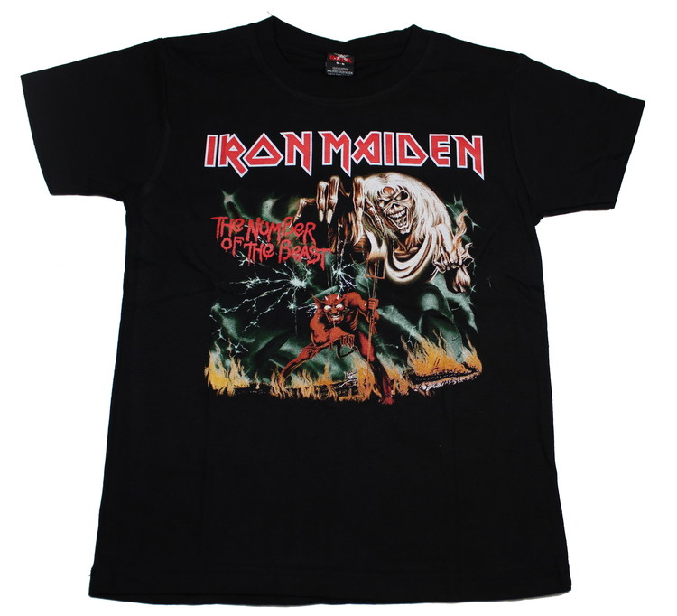 Barn t-shirt Iron maiden Number of the beast