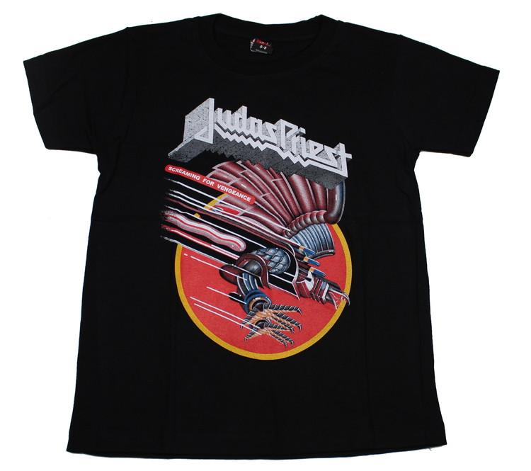 Judas Priest Screaming for vengance Barn t-shirt